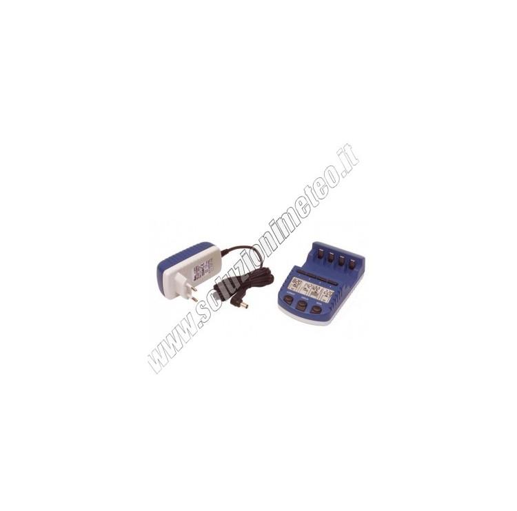 Caricabatterie intelligente La Crosse RS 1000 - Batterie non incluse