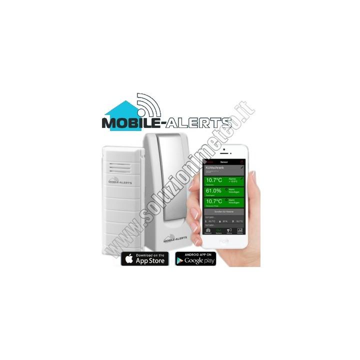 KIT La Crosse MA 10001 Mobile-Alerts Gateway LAN e Sensore wireless di temperatura