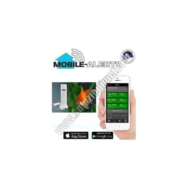 La Crosse MA 10300 Mobile-Alerts Termoigrometro wireless da abbinare al Gateway MA 10001