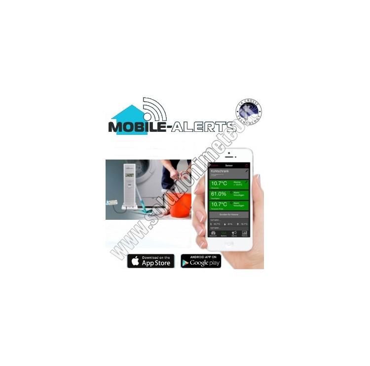 La Crosse MA 10350 Mobile-Alerts Termoigrometro wireless con sonda presenza acqua da abbinare al Gateway MA 10001