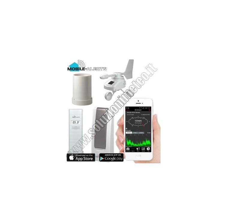 KIT La Crosse MA 10050 Mobile-Alerts Gateway LAN termoigrometro, anemometro e pluviometro wireless