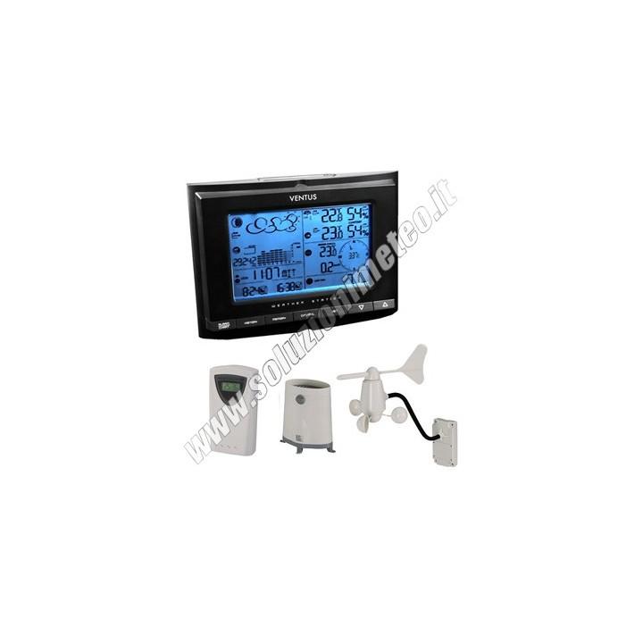 *NEW* Stazione meteo wireless VENTUS W.831 con collegamento al PC USB
