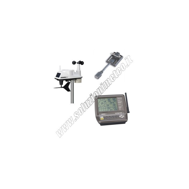 PROMOZIONE - Stazione meteo Davis Vantage Vue wireless completa + Datalogger DW6250EU+DW6510USB