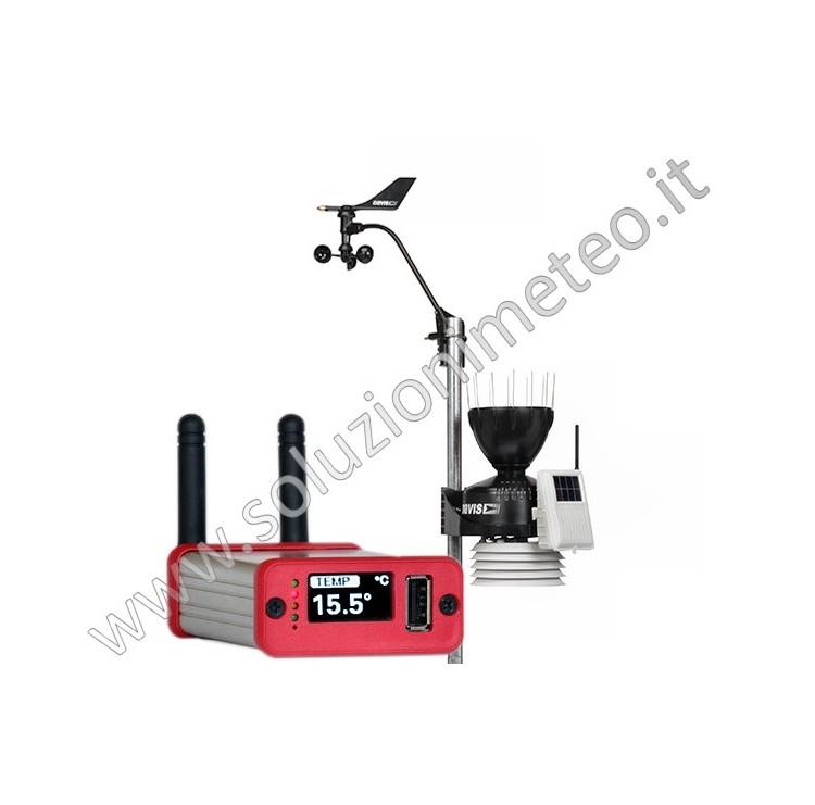 KIT soluzionimeteo.it - Gruppo sensori ISS Vantage PRO2 wireless + Meteobridge PRO-RF