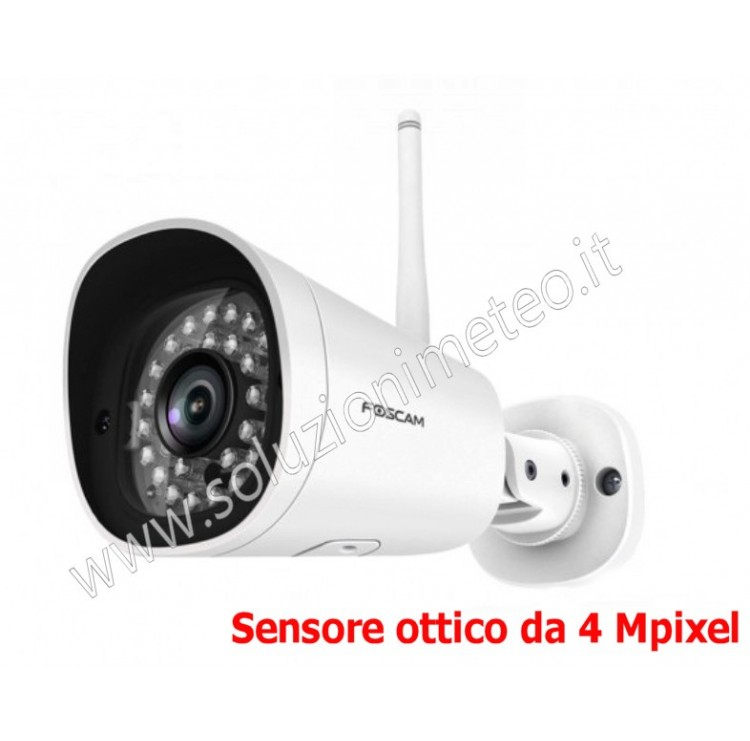 Telecamera - Webcam Foscam G4P HD 4.0 MegaPixel IR Cut Lan IP WiFi da esterno