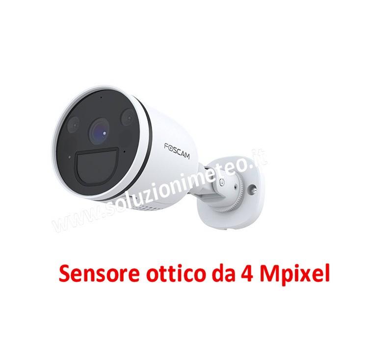 Telecamera - Webcam Foscam G4P HD 4 MegaPixel IR Cut Lan IP WiFi da esterno