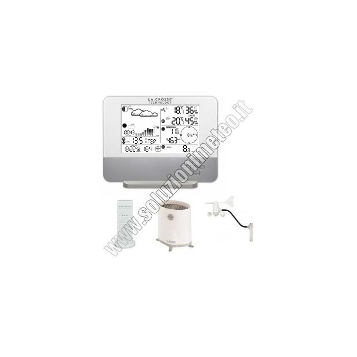 NOVITA' - Stazione meteo La Crosse WS1640 con connessione al PC USB colore: White